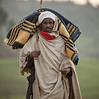 Indigenous man from Mehal Meda on the Guassa Plateau in the Ethiopian Highlands