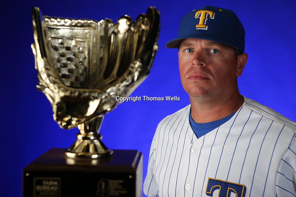 Tupelo Head baseball coach Justin Reed