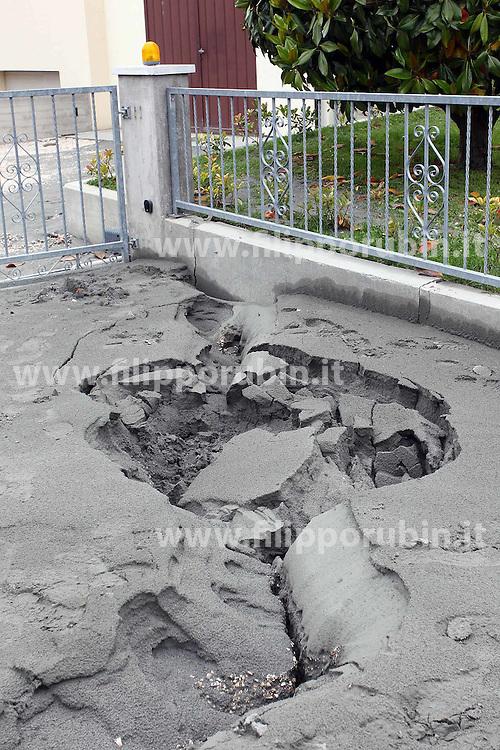 TERREMOTO NEL FERRARESE 2012: DANNI A SAN CARLO