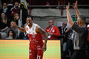 Nunally<br /> Openjobmetis Varese - A X Armani Exchange Milano<br /> Openjobmetis Varese - <br /> Basket Serie A LBA 2018/2019<br /> Varese 13 April 2019<br /> Foto Mattia Ozbot / Ciamillo-Castoria