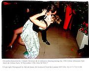 Alexandra Kamarowsky, Compte Christian de la Salissiere dancing during the 1996 Crillon Debutants' Ball. Hotel de Crillon, Paris. 30 November 1996. Film 96780f27<br />© Copyright Photograph by Dafydd Jones. 66 Stockwell Park Rd. London SW9 0DA. Tel 0171 733 0108