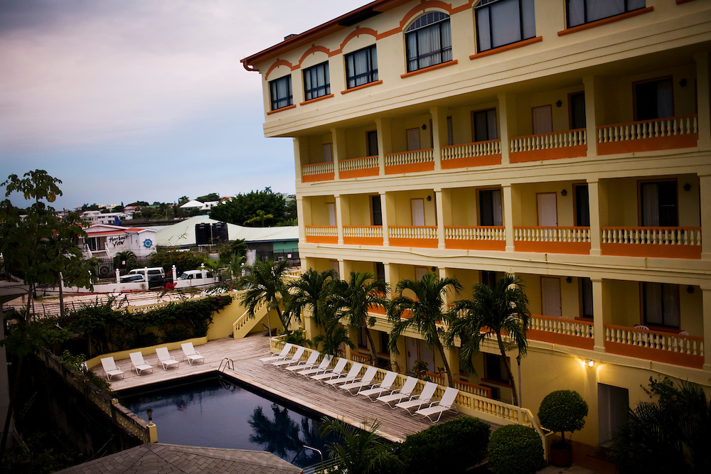 The Radisson Hotel in Belize City, Belize
