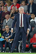 Southampton manager Mark Hughes during the Premier League match between Southampton and Brighton and Hove Albion at the St Mary's Stadium, Southampton, England on 17 September 2018.