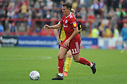 Accrington Stanley Midfielder, Sean McConville (11)  during the EFL Sky Bet League 1 match between Accrington Stanley and Scunthorpe United at the Fraser Eagle Stadium, Accrington, England on 1 September 2018.