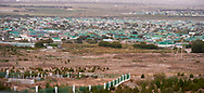 Ashgabat, Turkmenistan - 2017 September 22: Bagyr City (Bagyr is located some 14 km on West of Ashkhabad, the country's capital city) while 2017 Ashgabat 5th Asian Indoor & Martial Arts Games on September 22, 2017 in Ashgabat, Turkmenistan.<br /> <br /> Mandatory credit:<br /> Photo by © Adam Nurkiewicz<br /> <br /> Adam Nurkiewicz declares that he has no rights to the image of people at the photographs of his authorship.<br /> <br /> Picture also available in RAW (NEF) or TIFF format on special request.<br /> <br /> Any editorial, commercial or promotional use requires written permission from the author of image.
