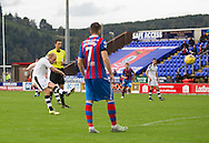 Dundee&rsquo;s Nick Ross scores his side's consolation from a free kick - Inverness Caledonian Thistle v Dundee in the Ladbrokes Scottish Premiership at Caledonian Stadium, Inverness. Photo: David Young<br /> <br />  - &copy; David Young - www.davidyoungphoto.co.uk - email: davidyoungphoto@gmail.com