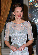 Kate Middleton & Prince William  At  Embassy Dinner