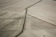 Nederland, Utrecht, Nieuwveen, 11-02-2008; polder Blokland, winterse akkers liggen er kaal bij; voren in het landschap, verkaveling, patroon, sloot, sloten.luchtfoto (toeslag); aerial photo (additional fee required); .foto Siebe Swart / photo Siebe Swart