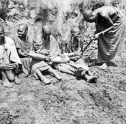 Maasai Women, Great Rift Valley Reservation, Ngong District, Kenya, Africa, 1937