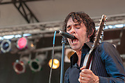 Jon Spencer Blues Explosion at Pitchfork Music Festival by best Cleveland rock photographer Mara Robinson