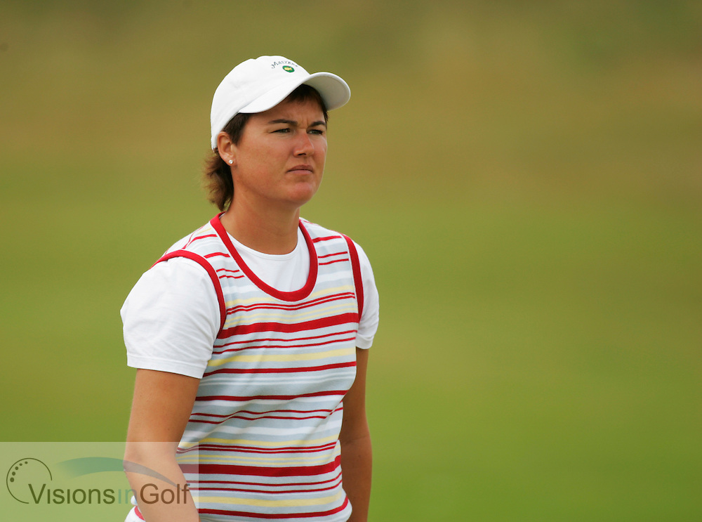 Sophie Gustafson<br /> 050731, Royal Birkdale GC , Weetabix Womens British Open 2005. <br /> Mandatory picture credit:  Mark Newcombe / visionsingolf.com