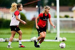 Gemma Evans and Ebony Salmon - Ryan Hiscott/JMP - 08/08/2019 - SPORT - Stoke Gifford Stadium - Bristol, England - Bristol City Women Training