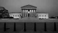 The US Supreme Court building, Washington DC.