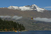 Paragliding, Queenstown, New Zealand<br />