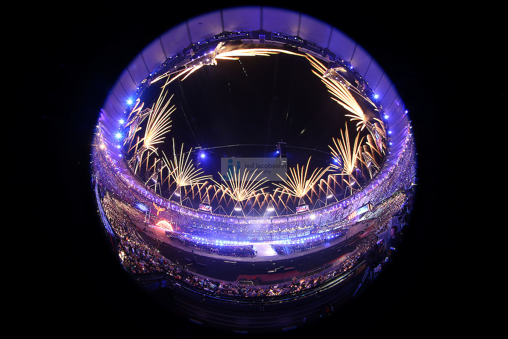 during Closing Ceremonies during day 16 of the London Olympic Games in London, England, United Kingdom on August 12, 2012..(Jed Jacobsohn/for The New York Times)..