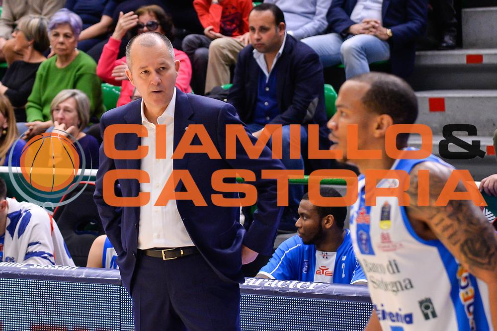 Zare Markovski<br /> Banco di Sardegna Dinamo Sassari - Germani Basket Leonessa Brescia<br /> Legabasket Serie A LBA PosteMobile 2017/2018<br /> Sassari, 08/04/2018<br /> Foto L.Canu / Ciamillo-Castoria