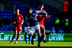Callum O'Dowda of Bristol City takes on Marlon Pack of Cardiff City - Mandatory by-line: Robbie Stephenson/JMP - 10/11/2019 -  FOOTBALL - Cardiff City Stadium - Cardiff, Wales -  Cardiff City v Bristol City - Sky Bet Championship