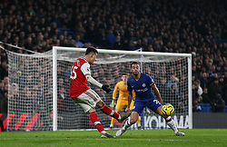 Gabriel Martinelli of Arsenal on the attack - Mandatory by-line: Arron Gent/JMP - 21/01/2020 - FOOTBALL - Stamford Bridge - London, England - Chelsea v Arsenal - Premier League