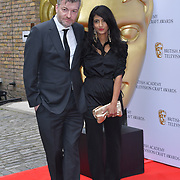 Charlie Brooker, Konnie Huq Arrivers at the British Academy Television Craft Awards on 28 April 2019, London, UK.