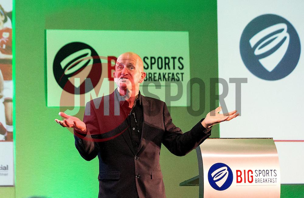 Eddie 'The Eagle' Edwards talks at the Big Sports Breakfast - Mandatory by-line: Robbie Stephenson/JMP - 29/04/2016 - FOOTBALL - Ashton Gate - Bristol, England - Bristol Sport Big Sports Breakfast Eddie The Eagle