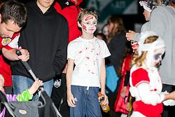 Bristol Sport Spooktacular Halloween Event at Ashton Gate - Rogan Thomson/JMP - 26/10/2016 - SPORT - Ashton Gate Stadium - Bristol, England.