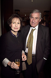 MR & MRS MARK LITTMAN he is the QC at a party in London on 3rd October 2000.OHN 84