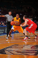 California guard Patrick Christopher #23 is defended by Ohio State guard Jon Diebler #33 during the 2K Sports Classic at Madison Square Garden. (Mandatory Credit: Delane B. Rouse/Delane Rouse Photography)