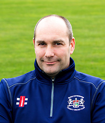 Physiotherapist  for Gloucestershire CCC Steve Griffin poses for a headshot - Mandatory by-line: Robbie Stephenson/JMP - 04/04/2016 - CRICKET - Bristol County Ground - Bristol, United Kingdom - Gloucestershire  - Gloucestershire Media Day