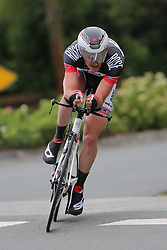 26.06.2015, Einhausen, GER, Deutsche Strassen Meisterschaften, im Bild Michel Koch (rad-net ROSE Team) // during the German Road Championships at Einhausen, Germany on 2015/06/26. EXPA Pictures © 2015, PhotoCredit: EXPA/ Eibner-Pressefoto/ Bermel<br /> <br /> *****ATTENTION - OUT of GER*****