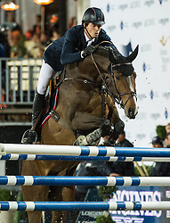 21.09.2013, Rathausplatz, Wien, AUT, Global Champions Tour, Vienna Masters, Springreiten (1.60 m), 2. Durchgang im Bild Harrie Smolders (NED) auf Jackson Hole on 2nd place // during Vienna Masters of Global Champions Tour, International Jumping Competition (1.60 m), second round at Rathausplatz in Vienna, Austria on 2013/09/21. EXPA Pictures © 2013 PhotoCredit: EXPA/ Michael Gruber