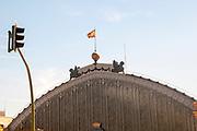 Atocha train station in Madrid, Spain