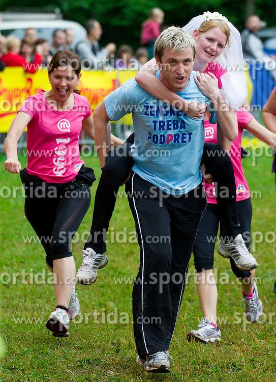 Denis Avdic at 7th DM 5 km and 10 km Women's marathon, on June 2, 2012 in Tivoli, Ljubljana, Slovenia. (Photo by Vid Ponikvar / Sportida.com)