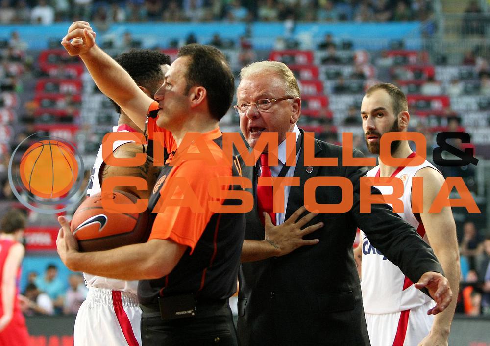 DESCRIZIONE : Istanbul Eurolega Eurolegue 2011-12 Final Four Finale Final CSKA Moscow Olympiacos<br /> GIOCATORE : Dusan Ivkovic Tolga Sahin<br /> SQUADRA : Olympiacos<br /> EVENTO : Eurolega 2011-2012<br /> GARA : CSKA Moscow Olympiacos<br /> DATA : 13/05/2012<br /> CATEGORIA : esultanza<br /> SPORT : Pallacanestro<br /> AUTORE : Agenzia Ciamillo-Castoria<br /> Galleria : Eurolega 2011-2012<br /> Fotonotizia : Istanbul Eurolega Eurolegue 2010-11 Final Four Finale Final CSKA Moscow Olympiacos<br /> Predefinita :