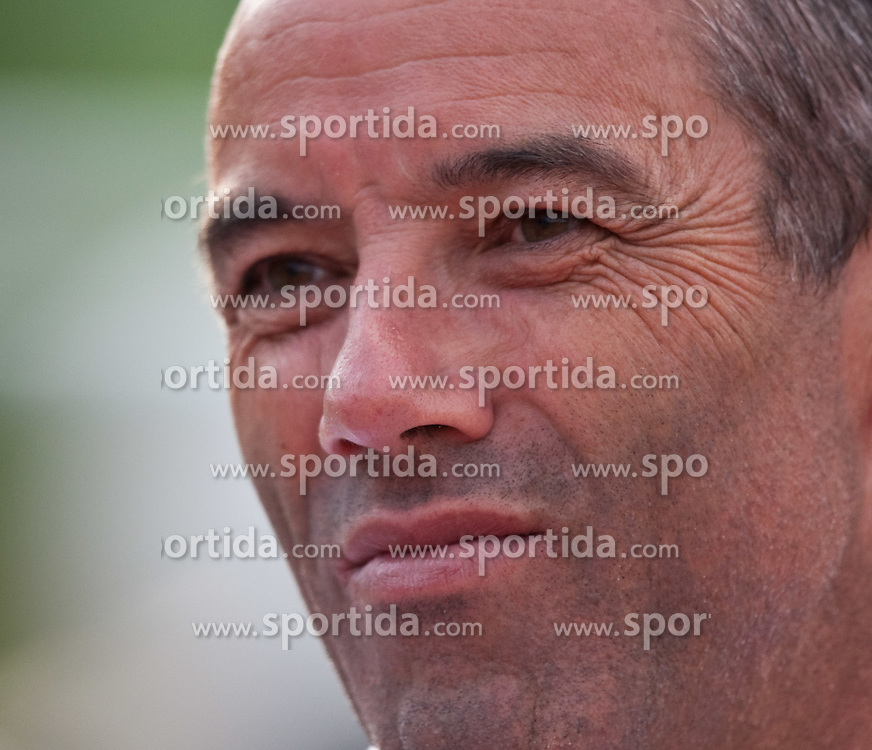 25.05.2010, Dolomitenstadion, Lienz, AUT, FIFA Worldcup Vorbereitung, Kamerun vs Georgien im Bild Paul Le Guen, Trainer, Nationalteam Kamerun, FRA, EXPA Pictures © 2010, PhotoCredit: EXPA/ J. Feichter / SPORTIDA PHOTO AGENCY