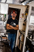 Chef Caesar of the Blue Moon tavern in McMinnville, Oreg