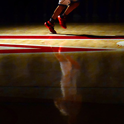 Los Altos' Jordan Ramirez is announced prior to a prep basketball game against Culver City at Los Altos High School in Hacienda Heights, Calif.,on Wednesday, Feb. 17, 2016.