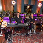 NLD/Hilversum/20181002 - Artiesten Holland zingt Kerst 2018, Marcel Fisser Band