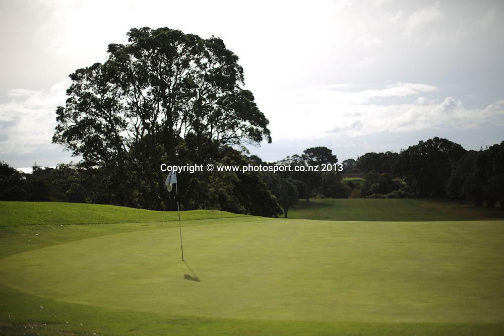 The final day of the Taranaki Energy Open, New Plymouth Golf Club, New Zealand. Sunday 14 April, 2013. Photo: John Cowpland / photosport.co.nz