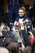 Gigi Hadid At Hifiger Store - 24 Feb 2018