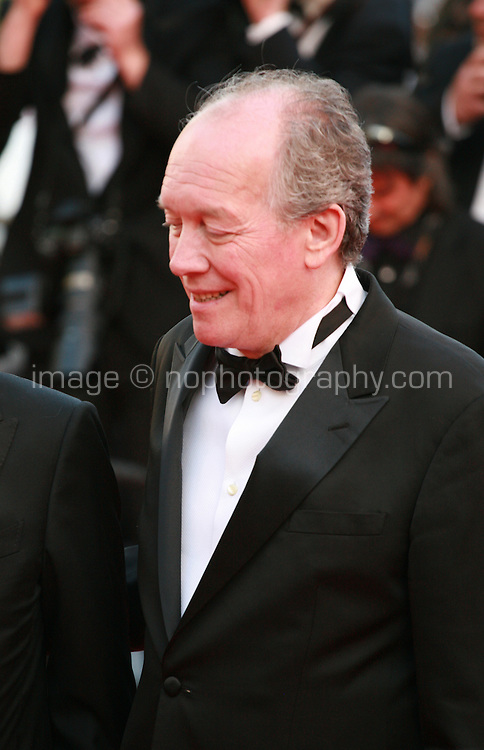 Luc Dardenne at the Two Days, One Night (Deux Jours, Une Nuit) gala screening red carpet at the 67th Cannes Film Festival France. Tuesday 20th May 2014 in Cannes Film Festival, France.