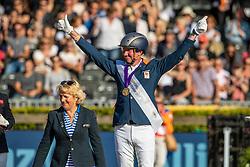 Gold medal, Individual Grade V, Hosmar Frank, NED<br /> European Championship Para Dressage<br /> Rotterdam 2019<br /> © Hippo Foto - Dirk Caremans