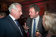 LORD MYNERS; JAMES SEYMOUR, The 2012 Veuve Clicquot Business Woman of the Year Award .  Celebrating women's excellence in business.  Claridge's, Brook Street, London, 18 April 2012
