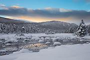 Winterlandscape at Skurdalen, Norway | Vinterlandskap i Skurdalen, Norge