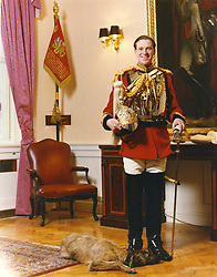 James Hewitt pictured in his household cavalry officer uniform.