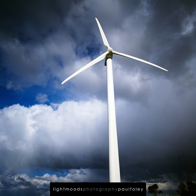 Wind Turbine, Newcastle NSW Australia