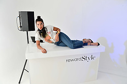 HANNAH BRONFMAN at a London Fashion Week Party hosted by rewardStyle at IceTank, 5 Grape Street, London on 21st February 2016.