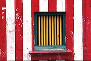 Kovil window at Sea Street, Colombo.