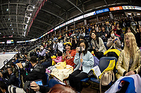 KELOWNA, BC - OCTOBER 25:  International fans during the Mens short program at Skate Canada International held at Prospera Place on October 25, 2019 in Kelowna, Canada. (Photo by Marissa Baecker/Shoot the Breeze)
