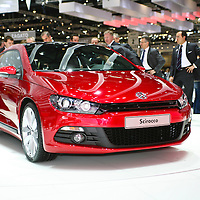 VW Scirocco, Geneva Motorshow, 2008