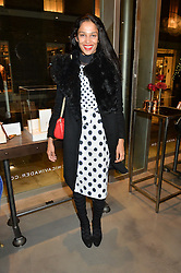 SALONI LODHA at a party to celebrate the launch of the Monica Vinader London Flagship store at 71-72 Duke of York Square, London SW3 on 4th December 2014.